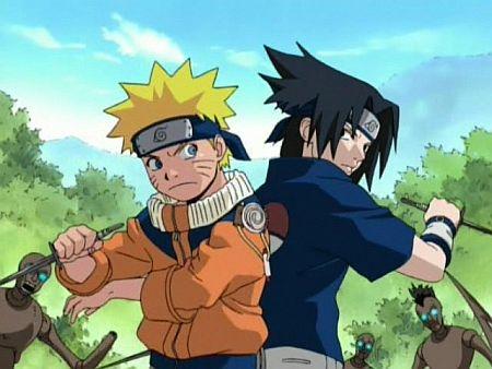Saruto e Sasuke