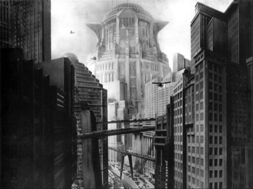 Cenário do filme Metrópolis