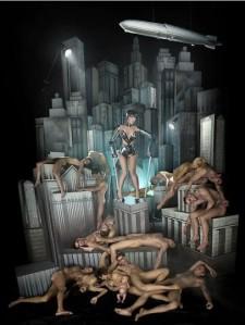 Lady Gaga e Metrópolis